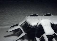 Neige Evaux-et-Menil 88450 Tapis blanc recouvre les vosges