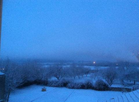 Neige au petit matin