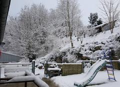 Neige Gripport 54290 Ce matin 10 à 15 cm de neige