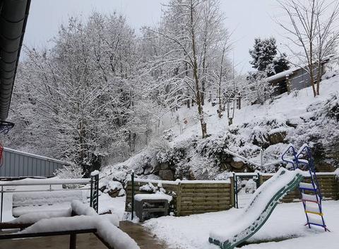 Ce matin 10 à 15 cm de neige