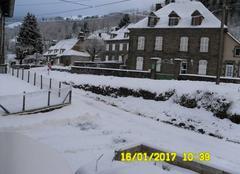 Neige à la Chaze du Falgoux 15380