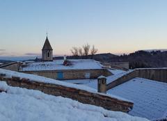 Mejannes sous la neige