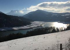 Neige Treffort 38650 Paysage Alpin