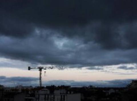 Ciel de ce soir sur Toulouse