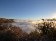 Fle Méjean au bord des nuages