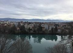 Les berges de Bourg-de Péage depuis Romans-Sur-Isère