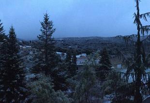 Neige Santa-Maria-Siche 20190 Santa-Maria Siché sous la neige