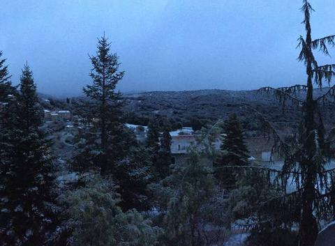 Santa-Maria Siché sous la neige