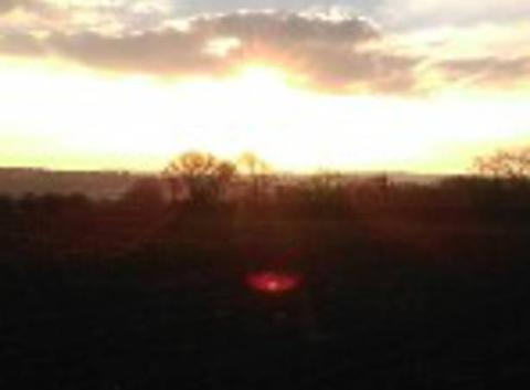 Soleil d' hiver en Bretagne