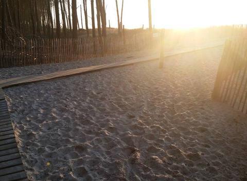 La plus belle plage.