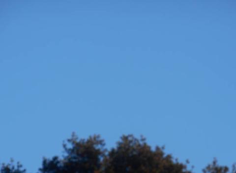 Ciel   bleu....du  vent ....du  froid.....