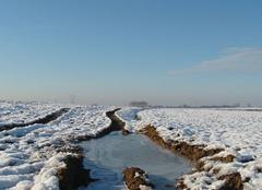 Froid Vendegies-au-Bois 59218 Paysage hivernal