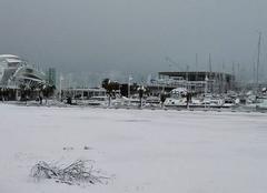 Neige Dénia 03700 Denia sous la neige