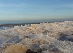 Mer gelée à Wissant