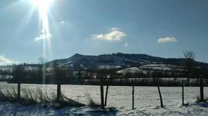 Soleil et neige