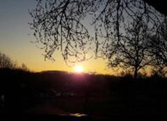 Soleil qui se leve