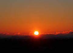 Ciel de St Lézer mardi 17 Janvier 2017 à 8 h 55.