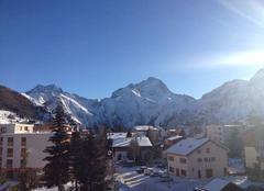 Les 2 Alpes sous un grand bleu