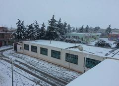 Oum El Adhaim sous la neige