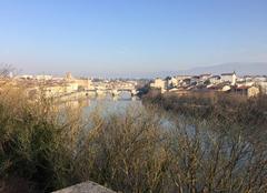 Panoramique de l'Isère cet après-midi - Grand soleil, romanssans vent