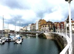 Port de plaisance Gijón Asturies