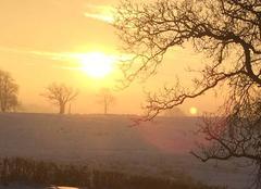Neige Verosvres 71220 Sunrise