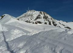 La Mongie vue sur le Pic du Midi de Bigorre