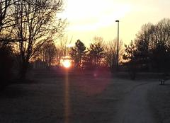 Reims 51100 Lever du soleil