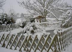 Jour de neige a Chambrey  en 2006