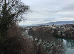 Ciel couvert sur l'Isère ce matin