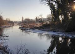 Froid La Riviere-Saint-Sauveur 14600 Paysage d hiver 2017