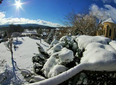 Arleuf sous la neige