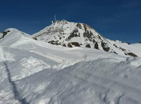 Barèges La Mongie vue sur le Pic du Midi de Bigorre