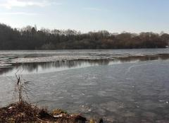 L'erdre gelée