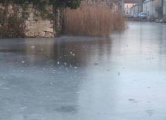 Froid Acheres-la-Foret 77760 Dimanche gelé en Seine et Marne