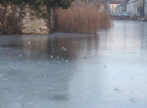 Dimanche gelé en Seine et Marne
