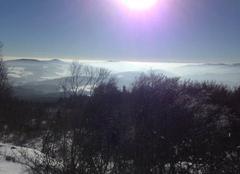 Ciel Chenelette 69430 Soleil en hiver