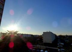 Belle fin de journée sur Niort.