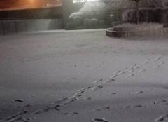 Neige à Amboise !