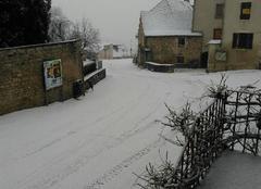 Alesia sous la neige