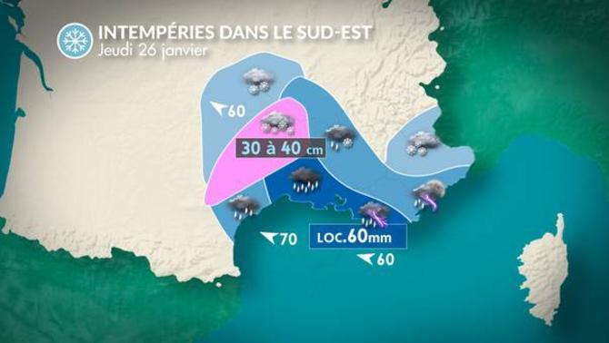 Actualit m t o aujourd 39 hui verglas et neige au sud - La chaine meteo montelimar ...