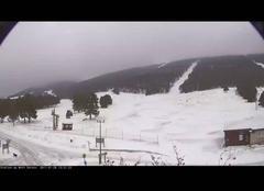Neige à la Station du Mont-Serein