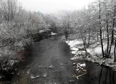 La neige au Vigan 30120