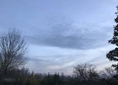 Ciel Barbey 77130 Le ciel après le vergla