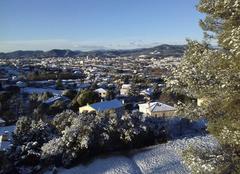 Neige sur Alés