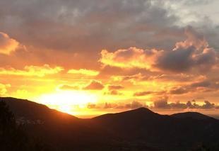 Ciel Ajaccio 20000 Coucher de soleil