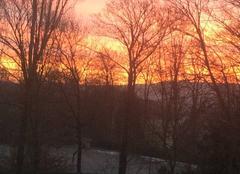 Ciel Forbach 57600 Soleil levant