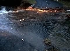 Pluie Alzon 30770 Sortie de La Vis entre Alzon et l' Hérault