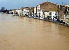 Catastrophe Coursan 11110 Fleuve aude
