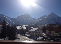 Les 2 Alpes sous un plein soleil